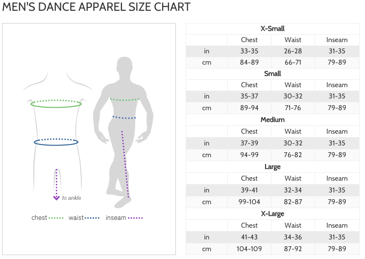 Sue s shop sizing charts