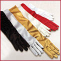DOLFSAT - STRETCH SATIN GLOVES