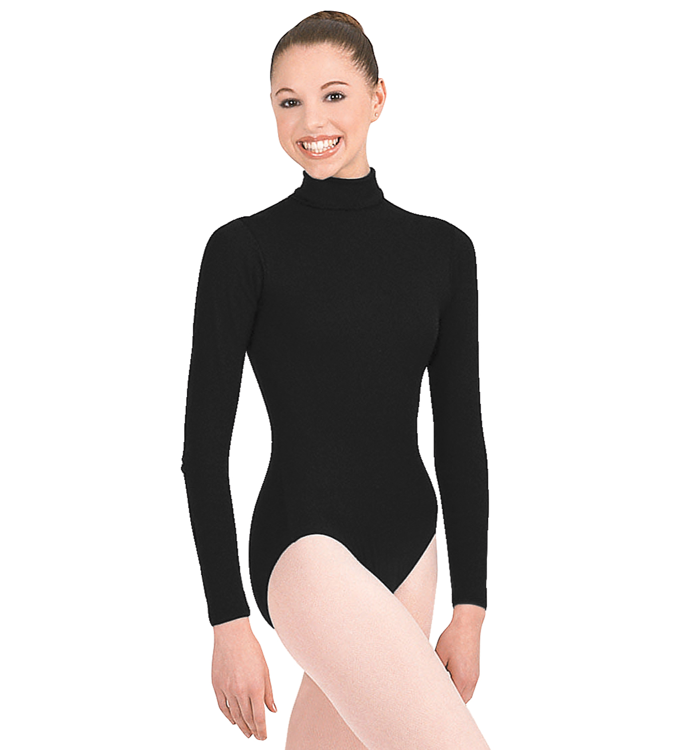 66113553e7fd5 Sue's Shop - TURTLE NECK LONG SLEEVE LEOTARD